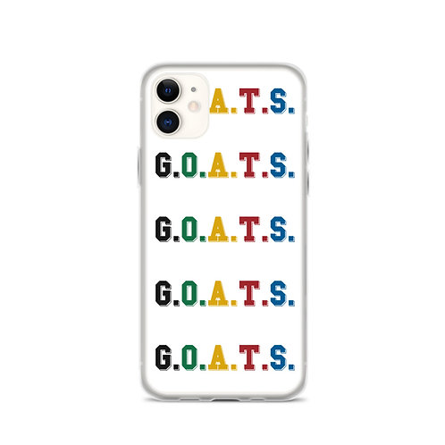 GOATS iPhone Case White