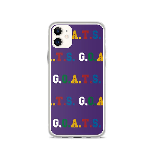 GOATS iPhone Case Purple