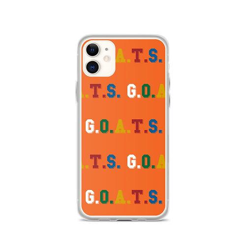 GOATS iPhone Case Orange