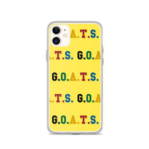 GOATS iPhone Case Yellow