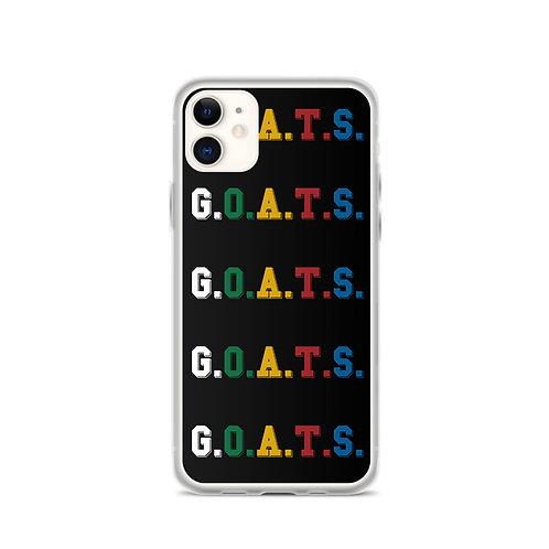 GOATS iPhone Case Black