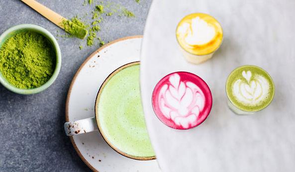 """Kurkuma Latte """"Goldenmilk gezoed""""      Ceylon kaneel – Kokos"""
