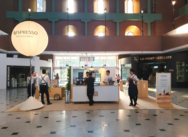 Nespresso One Pod At A Time Roadshow