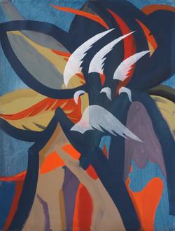 'Ascetic Life' (II), Oil on Linen, 62x48cm