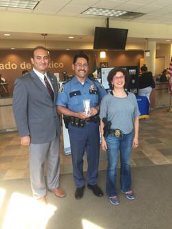 Sr. Commander John Lozoya Comm Award