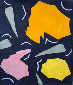 'Katasterismoi (II), Oil on Canvas, 160x140cm