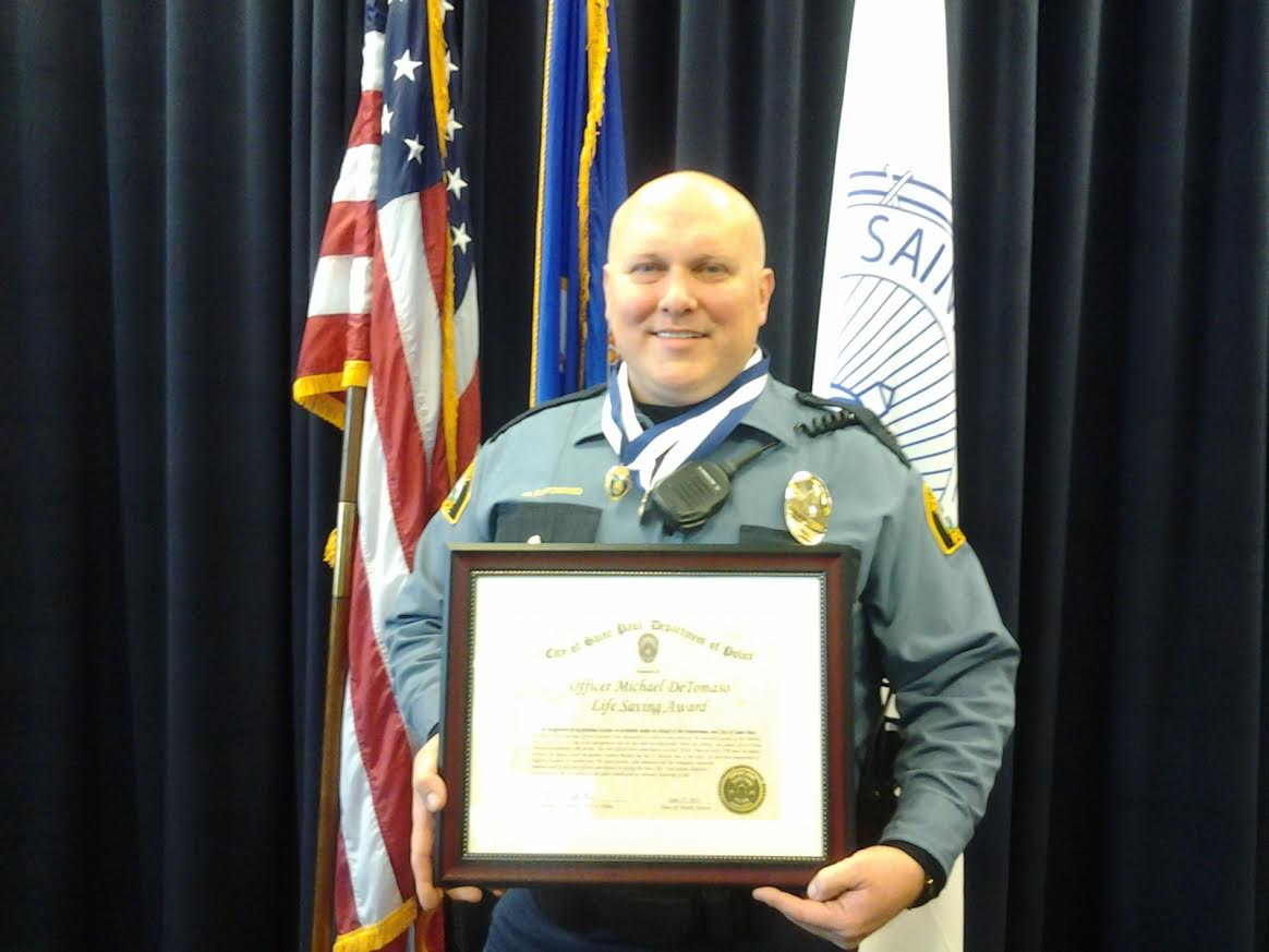Officer Detomaso Life Saving Award