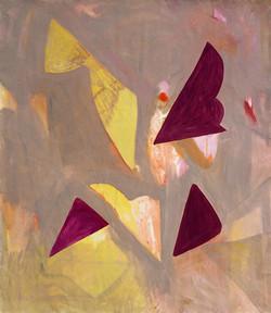 'Abacá (V), Oil on Canvas, 160x140cm