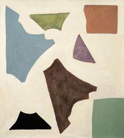 'Abacá (I), Oil on Canvas, 160x140cm