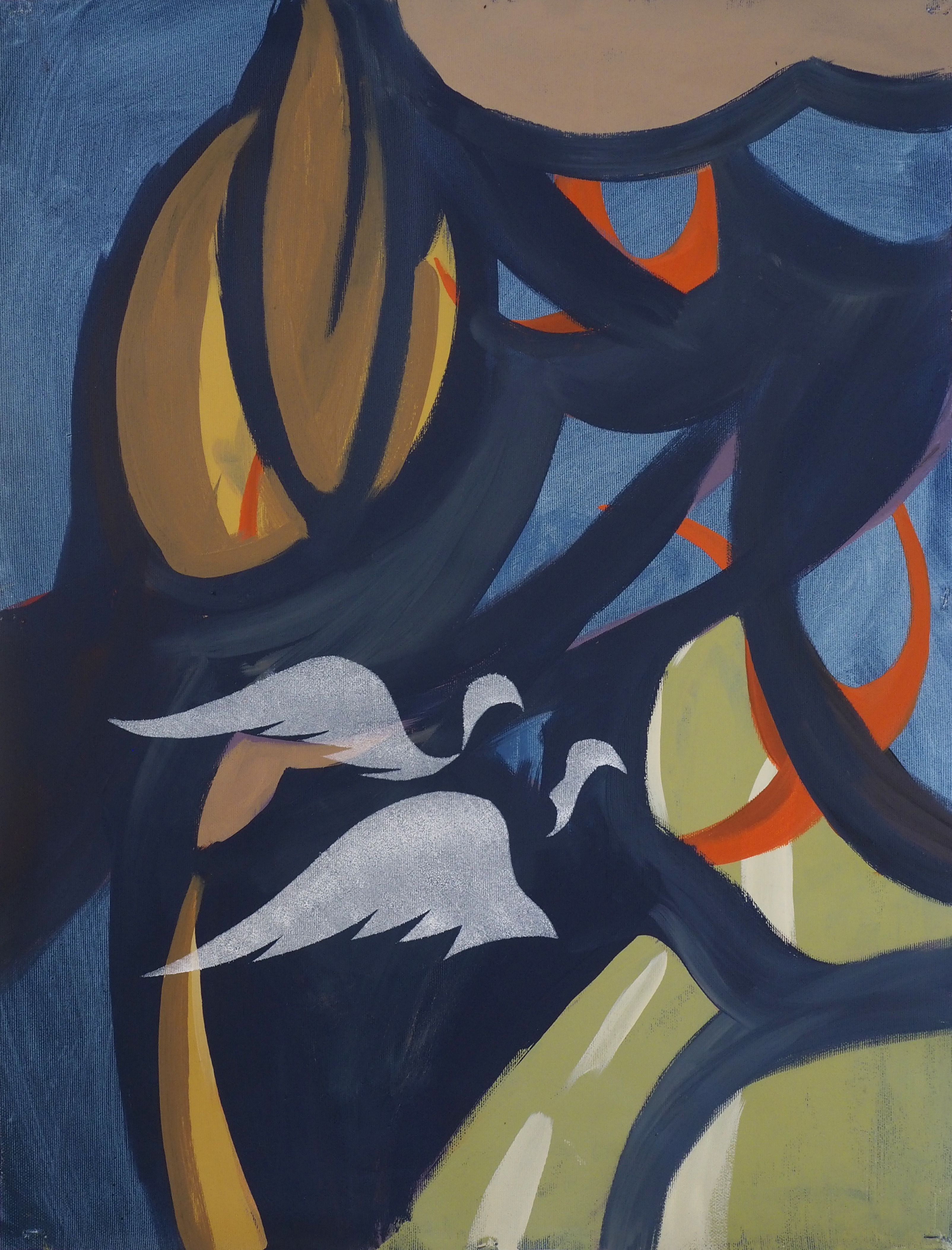 'Ascetic Life' (I), Oil on Linen, 62x48cm