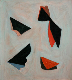 'Abacá (IV), Oil on Canvas, 160x140cm