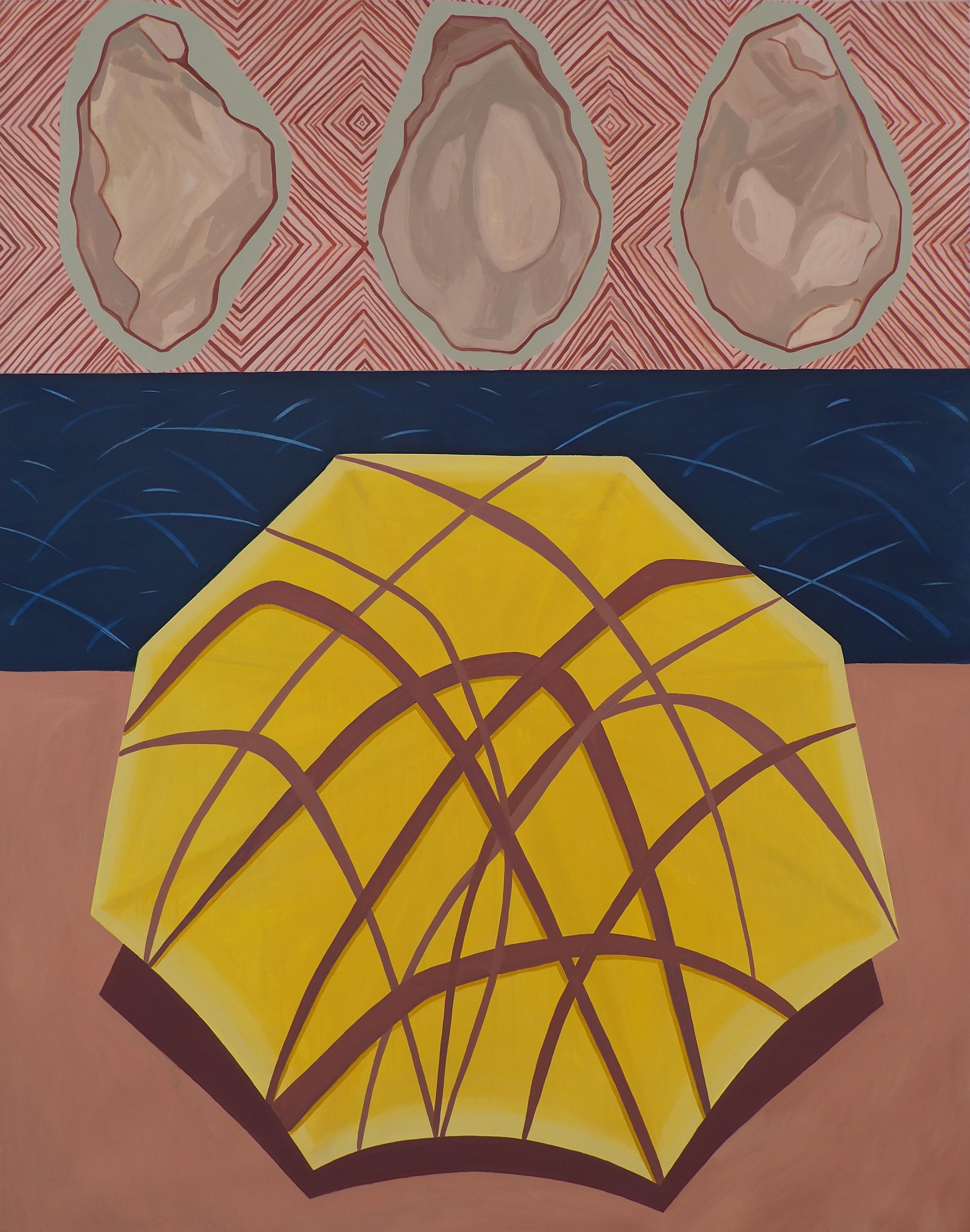 'The unseen horizon', Oil on Canvas, 150x120cm