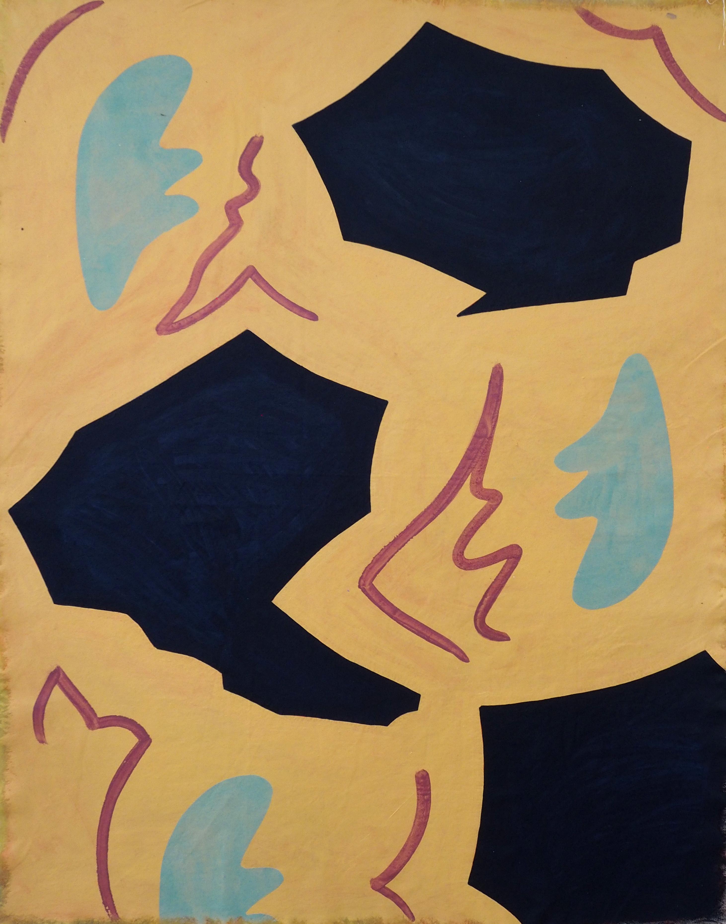 'Katasterismoi (I)', Oil on Canvas, 140x100cm