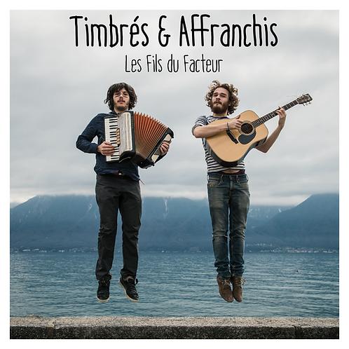 """""""Timbrés & affranchis"""" et """"Au pied de la lettre"""" Duo pack"""