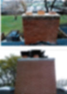 chimney repair before and after