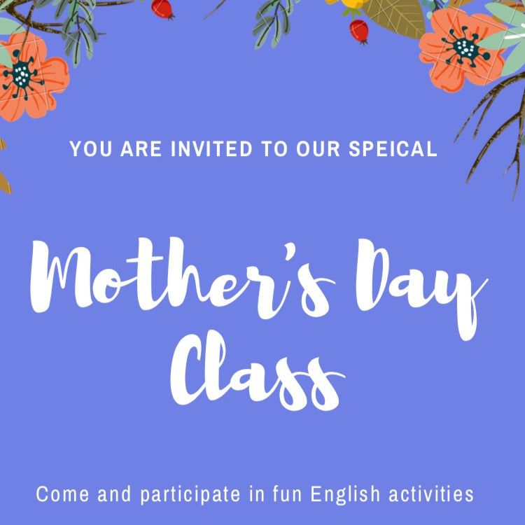 Mother's Day Class