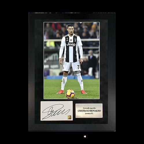 Cristiano Ronaldo | A3 Signed Photo Frame