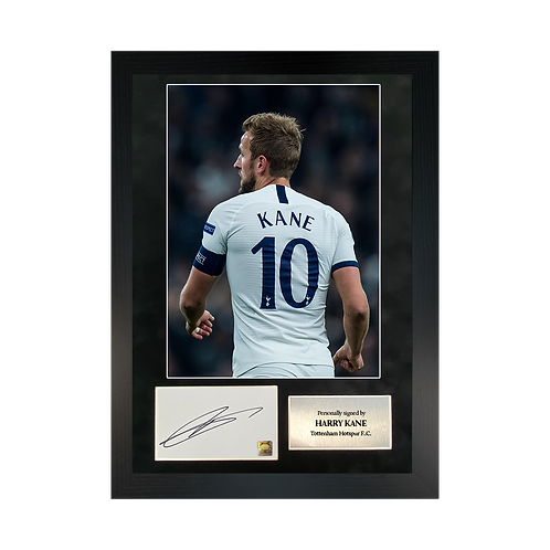 Harry Kane | A3 Signed Photo Frame