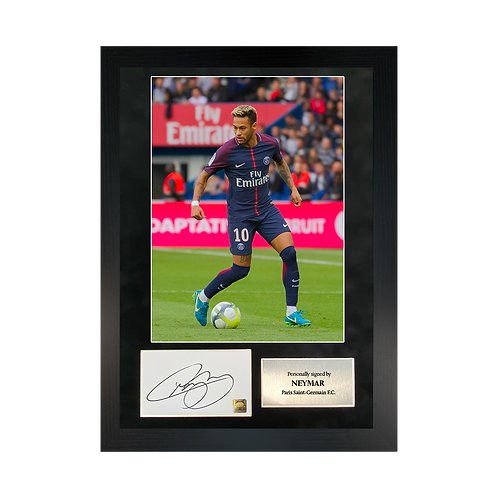 Neymar | A3 Signed Photo Frame