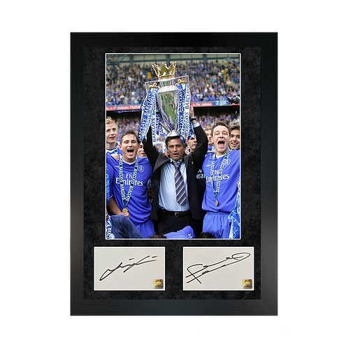 Frank Lampard & John Terry | Signed Double Photo Frame