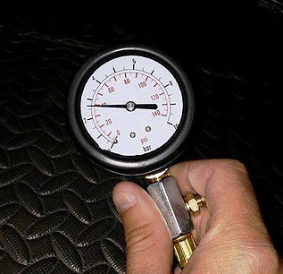 Mechanical Oil Pressure Testing