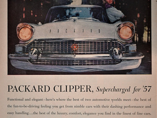 Sales Ad Saturday- James Nance named President of Packard