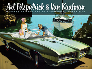"""Sales Ad Saturday- """"Art Fitzpatrick and Van Kaufman- Masters of the Art of Automobile Advertising"""""""
