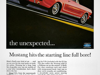 Sales Ad Saturday- Lee Iacocca and the Mustang