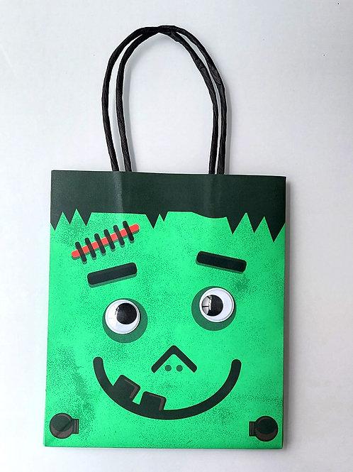 Pochette cadeau Halloween - Frankestein