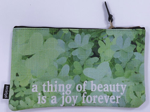 """Pochette moyenne - """"A thing of beauty is a joy forever"""""""