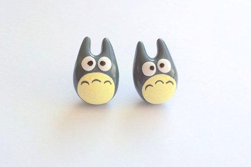 Boucles d'oreilles Totoro