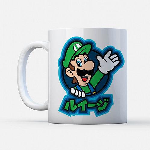 Mug Luigi Super Mario