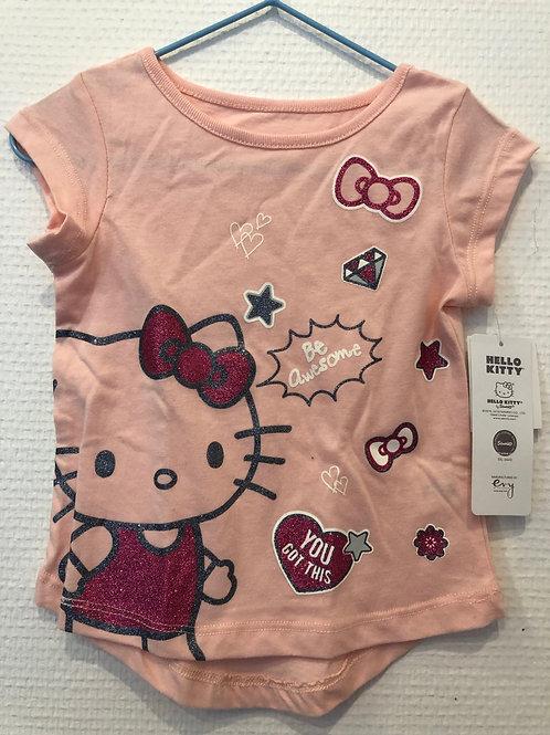 t-shirt Hello Kitty rose