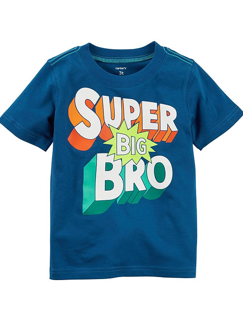 T-shirt Super big brother