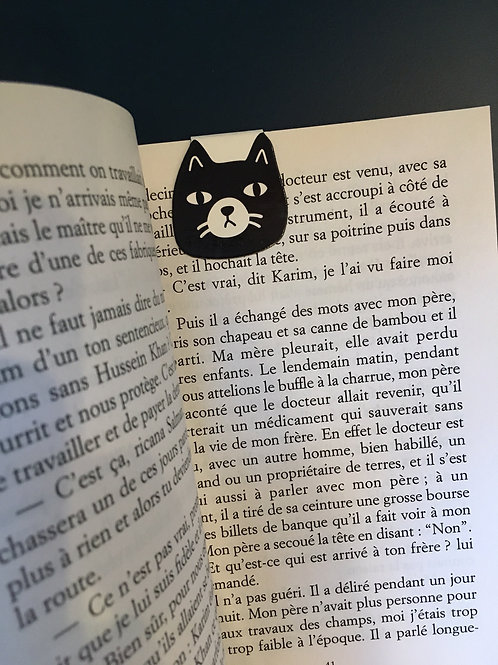 Marque-page chat