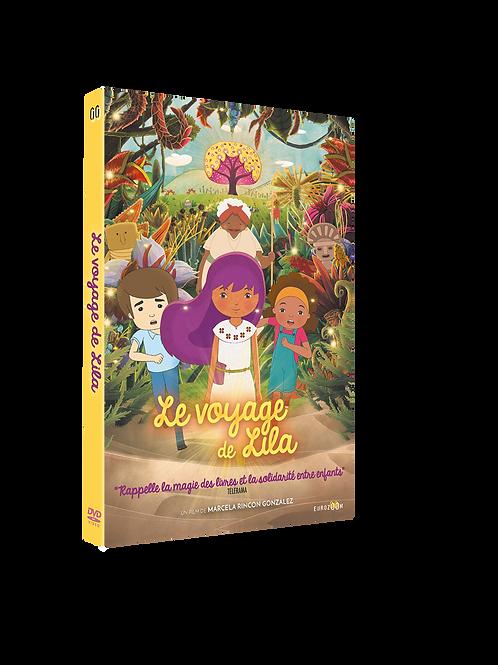 Le Voyage de Lila, de Marcela Rincon Gonzalez - DVD