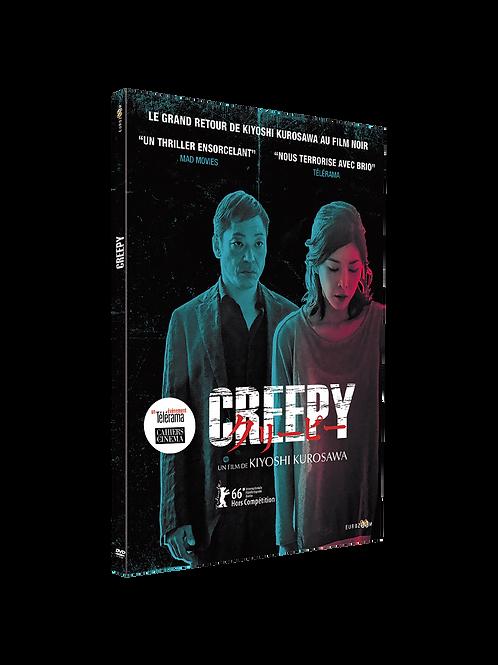 Creepy, un thriller noir de K. Kurosawa- DVD
