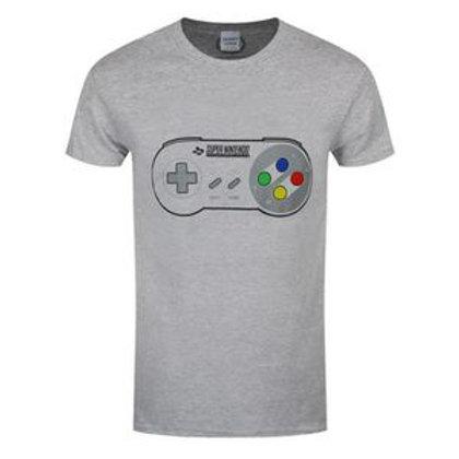 T-Shirt SuperNintendo Manette Adultes