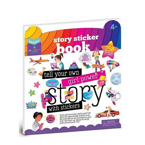 Livre Sticker Girl Power