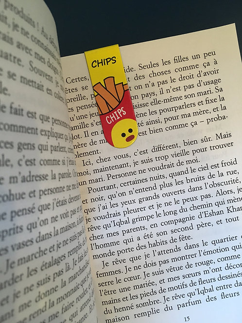 Marque-page chips