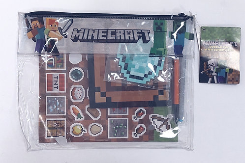 Pack papeterie - Minecraft