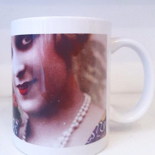 Mug - femme années 20