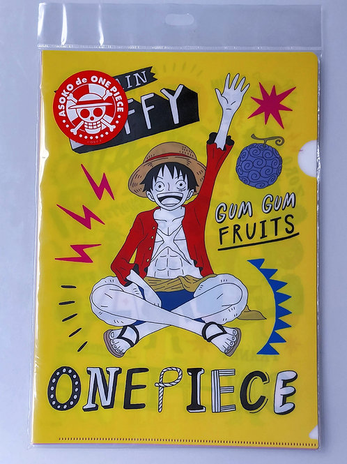 Pack 4 pochettes - One Piece