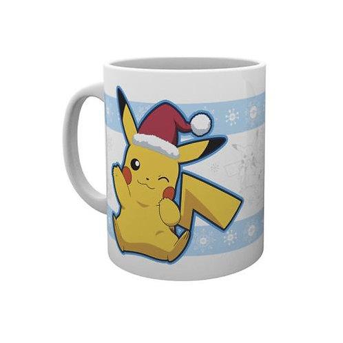 Mug Pikachu fête Noel !