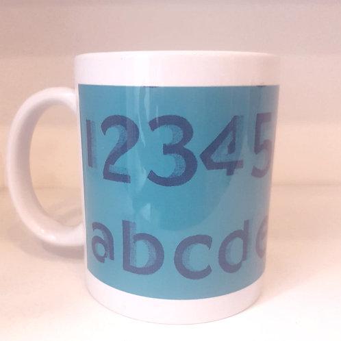 Mug - 1 2 3 A B C