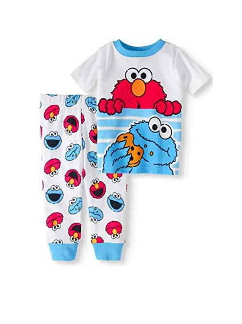 Pyjama Enfant Sesame Street Cookie Elmo