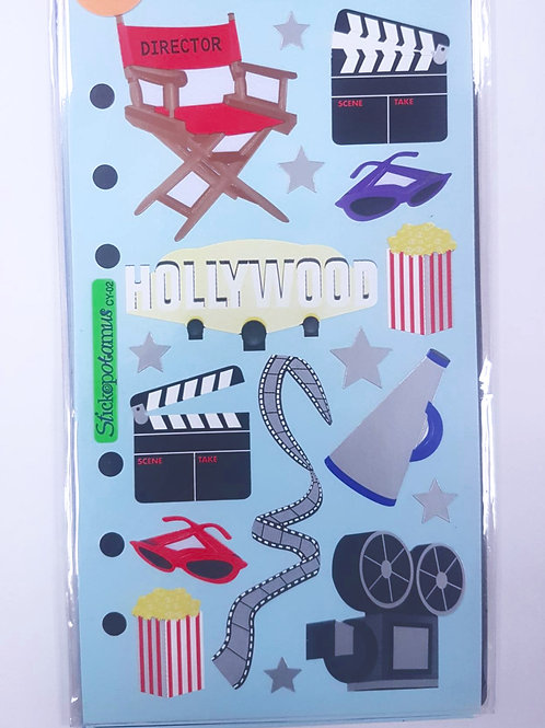 Planche de stickers - Hollywood