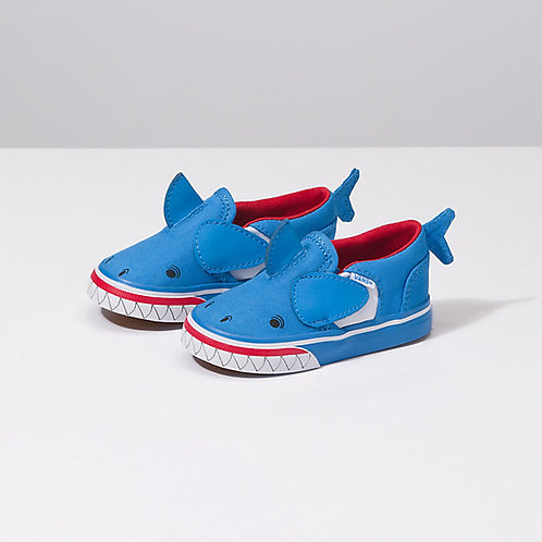 Chaussures Vans Enfants Garçons Requin bleu