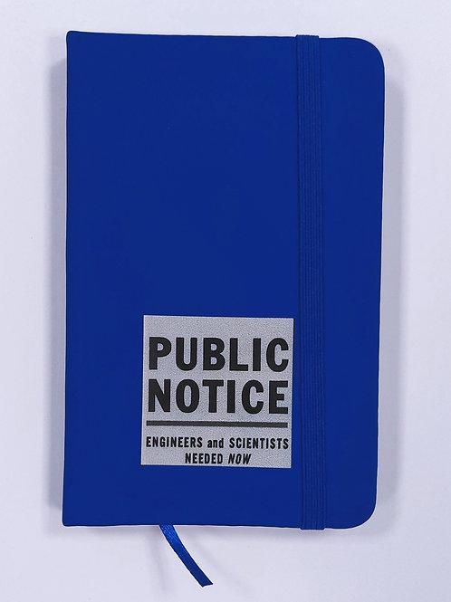 Mini carnet - Public Notice