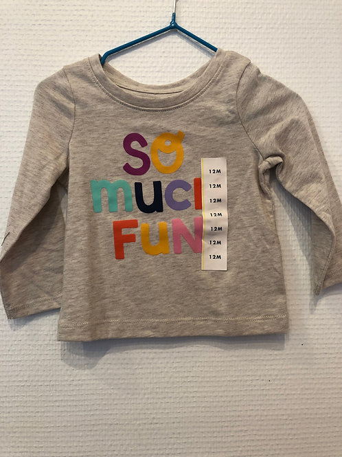 t-shirt so much fun